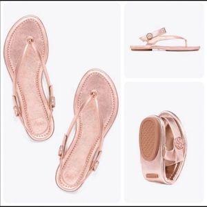 Tory Burch   Mini travel sandals sz 8M